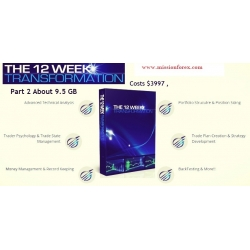 The Complete 12 Week Transformation part 2 (Enjoy Free BONUS Market Gauge – Real Motion Trading)