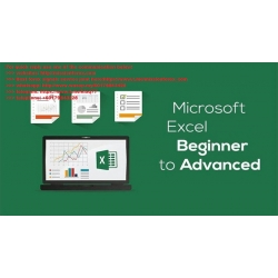 Microsoft Excel - Excel from Beginner to Advanced and Udemy - The Complete Financial Analyst Course 2019 (Total size: 18.05 GB Contains: 87 folders 1492 files)