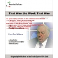 Tom Williams That Was the Week That Was vsa Newsletter Compilation Vol 1(Enjoy Free BONUS Dupont Trading – 4×4 Course)