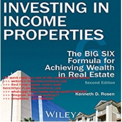 Kenneth D. Rosen - Investing in Income Properties