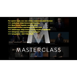 12 MasterClass in business occupation video course bundle pack (Total size: 38.74 GB Contains: 28 folders 449 files)