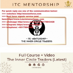 The Inner Circle Trader - Price Action Course + Mentorship ( Total size: 31.83 GB Contains: 37 folders 283 files)