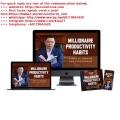 Dan L0k - Millionaire Productivity Secrets