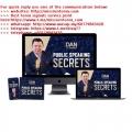 [Video Course] Dan L0k - Public Speaking Secrets