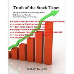 W.D.Gann - Truth of the Stock Tape 4 PDF (Total size: 6.8 MB Contains: 5 files)