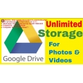 Unlimited Google Drive Storage! 2 Team Drive only for one Price!!!